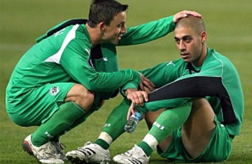 Maccabi Haifa sad 298 (photo credit: AP)