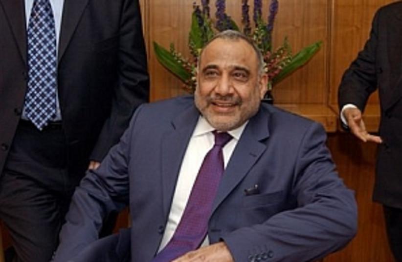 Adel Abdul-Mahdi 298.88 (photo credit: AP)