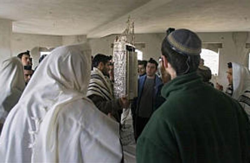 hebron settlers 298 ap (photo credit: AP)