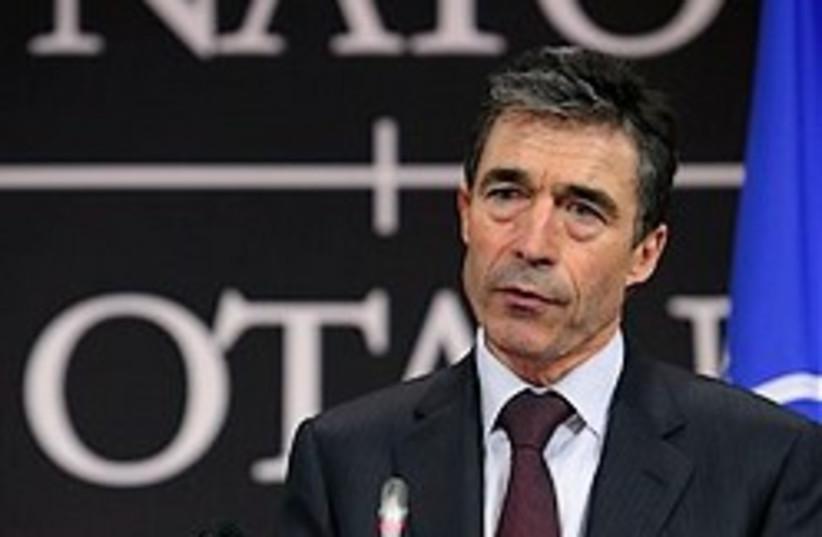 NATO chief Rasmussen 248.88 (photo credit: )