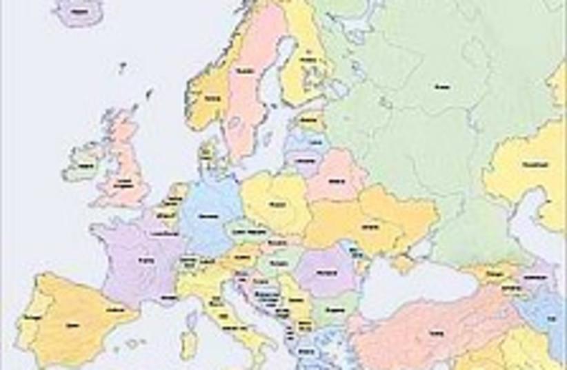 europe map 224.88 (photo credit: Courtesy)
