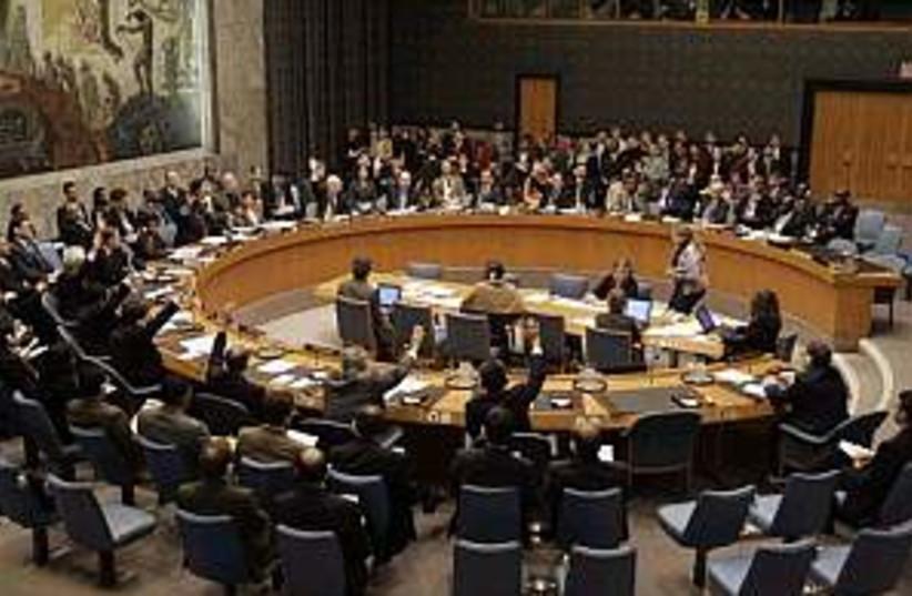 unsc sanctions 298.88 (photo credit: AP)
