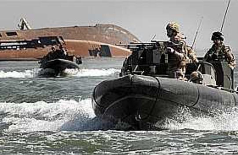british iraq water 298 (photo credit: AP/BRITISH ROYAL MARINES)