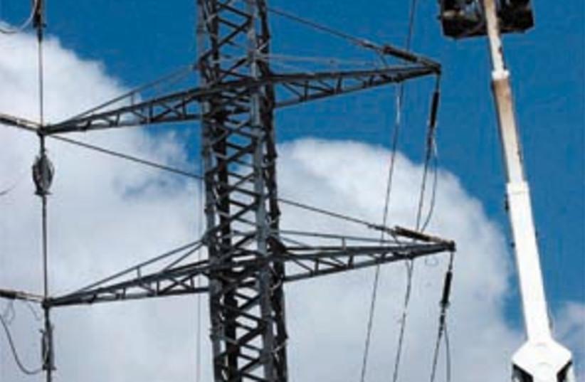 iec electric pole 88 298 (photo credit: Ariel Jerozolimski)