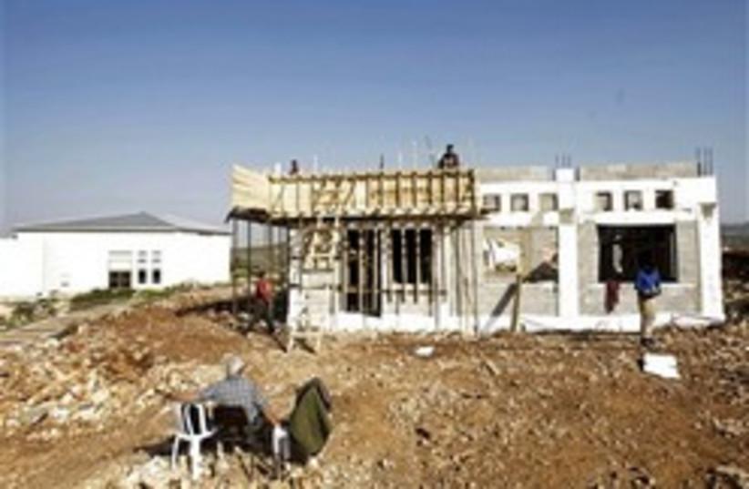 kedumim construction 248 88 ap (photo credit: AP)