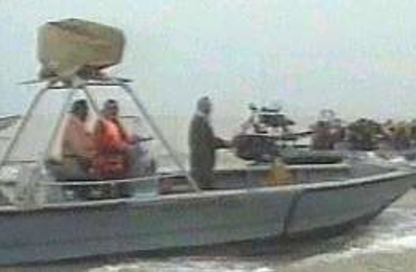 British sailor kidnap 29 (photo credit: AP)