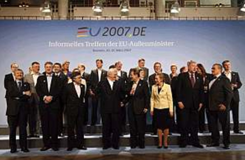 EU Foreign Ministers  (photo credit: )