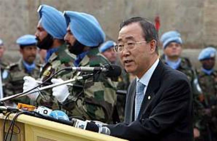 Ban UNIFIL 298.88 AP (photo credit: AP)