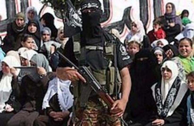 Gaza terrorist 298 AP (photo credit: AP)