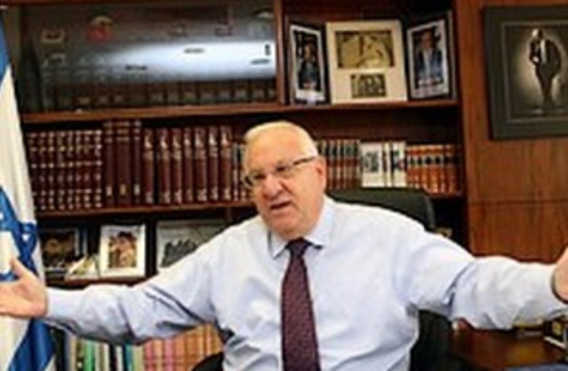 Rivlin (photo credit: Ariel Jerozolimski)