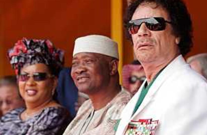 gadhafi senegal 298 (photo credit: AP)