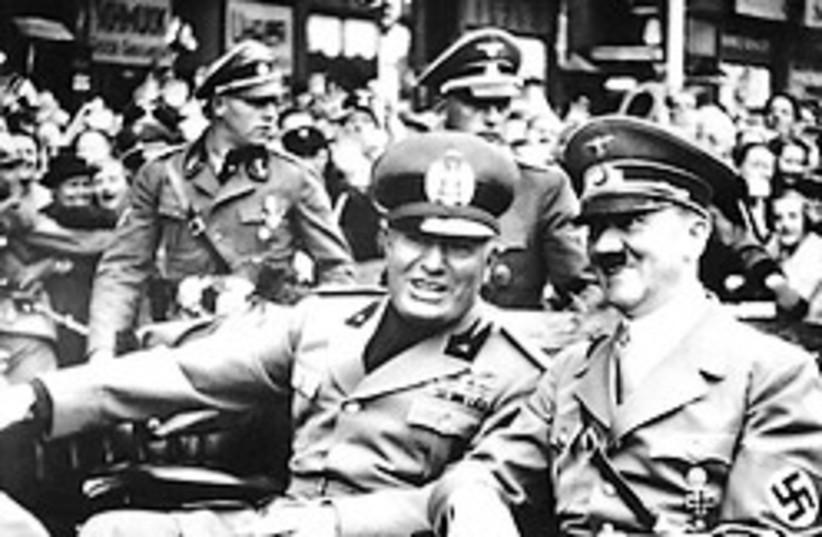 Mussolini Hitler 288x48 AP (photo credit: )