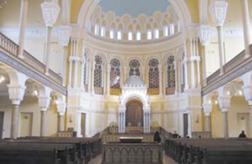 st. petersburg synagogue (photo credit: Haviv Rettig)