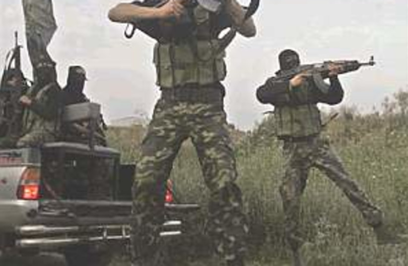 Islamic Jihad gunmen 298 (photo credit: )