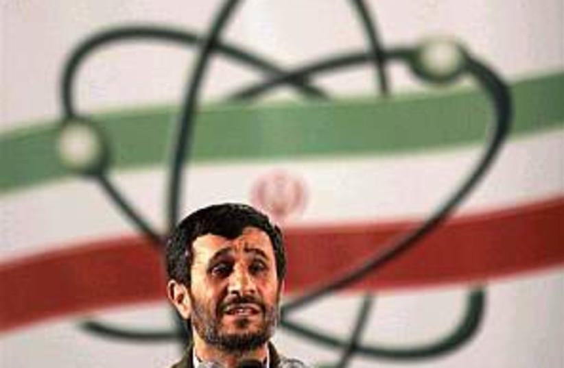 ahmadinejad atom 298.88 (photo credit: AP [file])