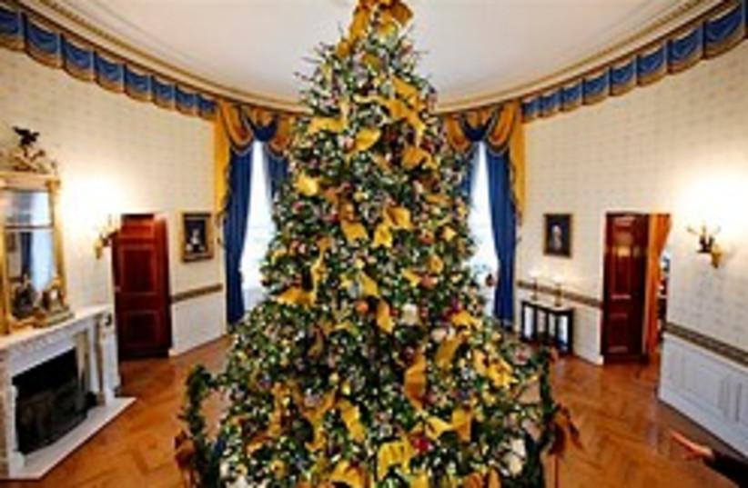 White house xmas tree 248.88 (photo credit: AP)
