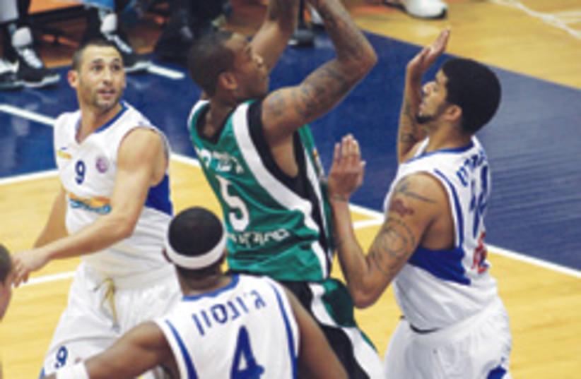 Maccabi Haifa basketball 248.88 (photo credit: BSL)