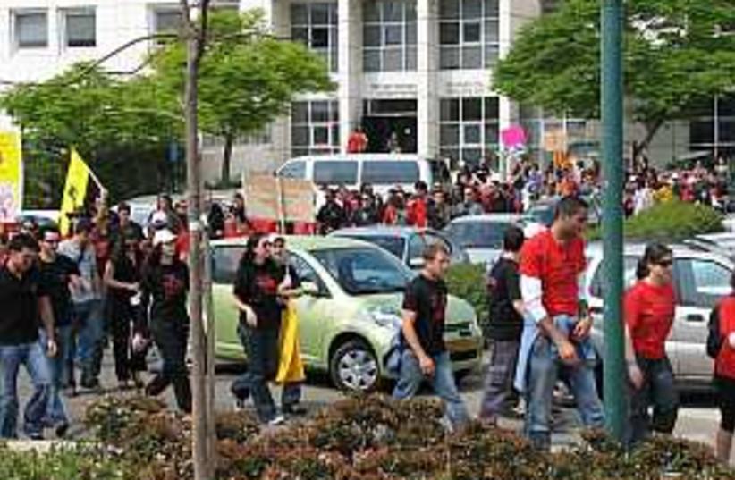 student strike 2 298 (photo credit: Courtesy)