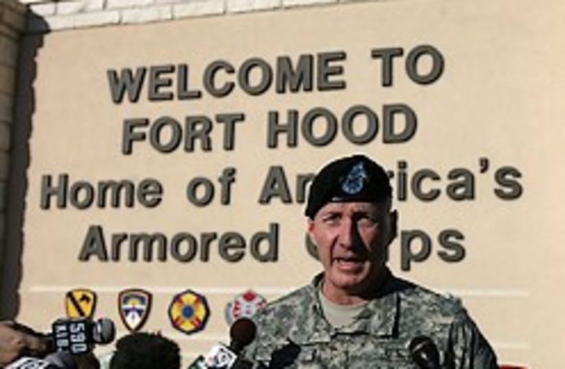 fort hood 248.88 (photo credit: AP)
