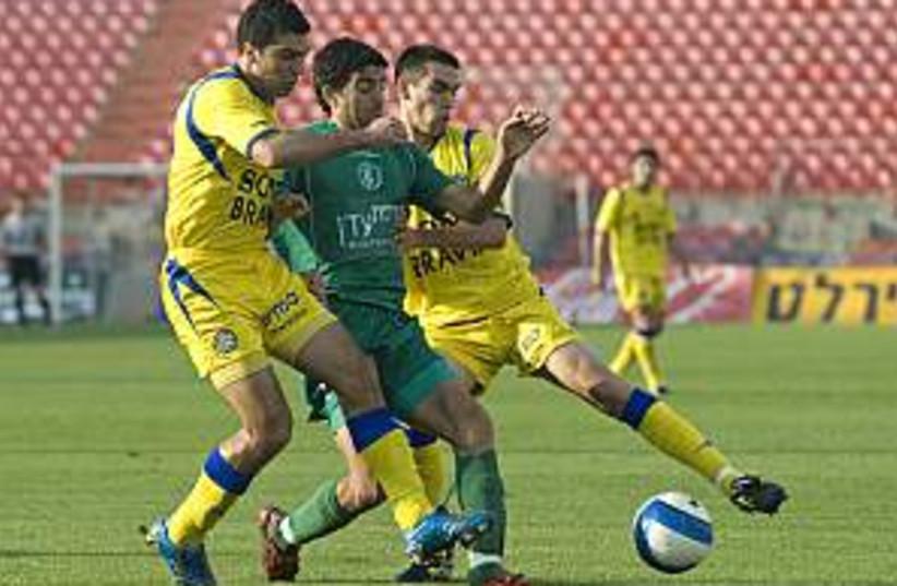 Maccabi Tel Aviv  (photo credit: Asaf Kliger)