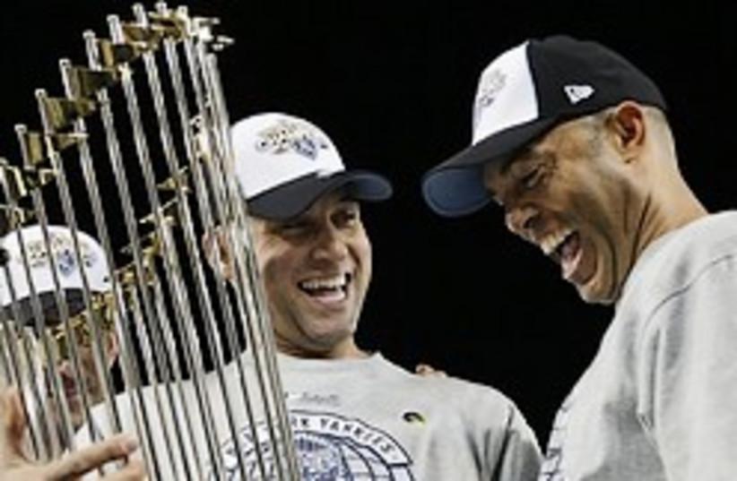 yankees win (photo credit: AP)