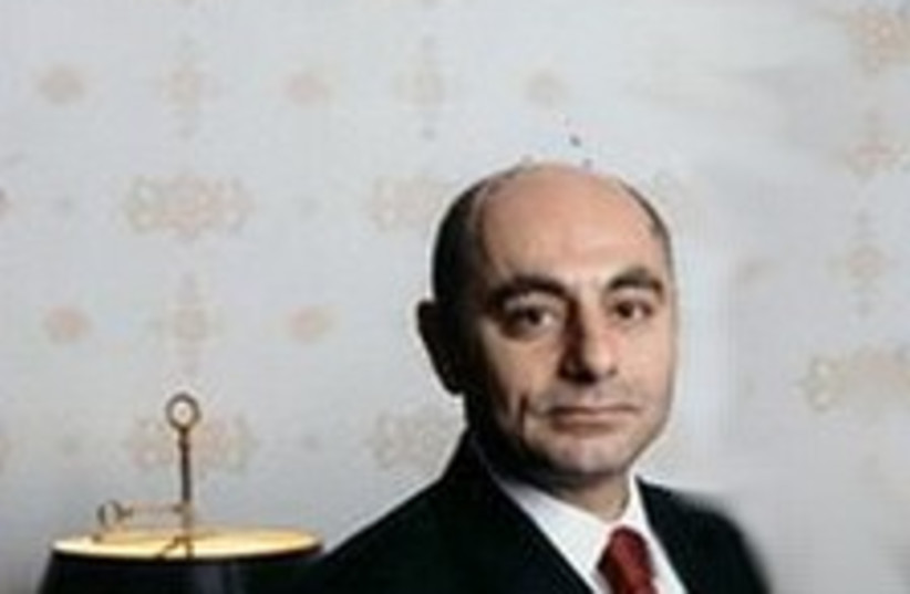 Syrian Ambassador to the US Imad Mustafa (photo credit: Courtesy)