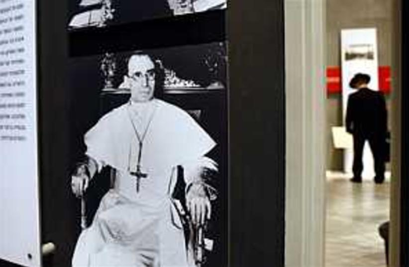 Pope Pius 298 (photo credit: AP)