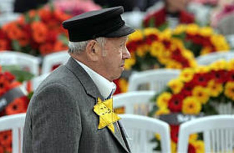 holocaust survivor 298ap (photo credit: AP)