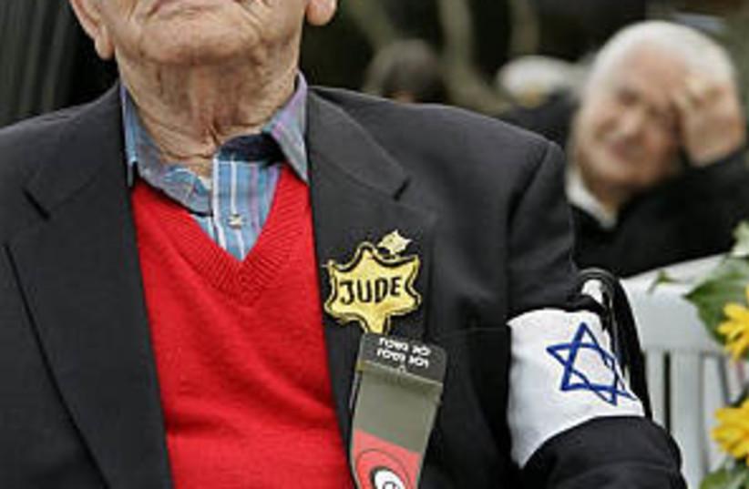 holocaust survivor 298ap (photo credit: AP [file])