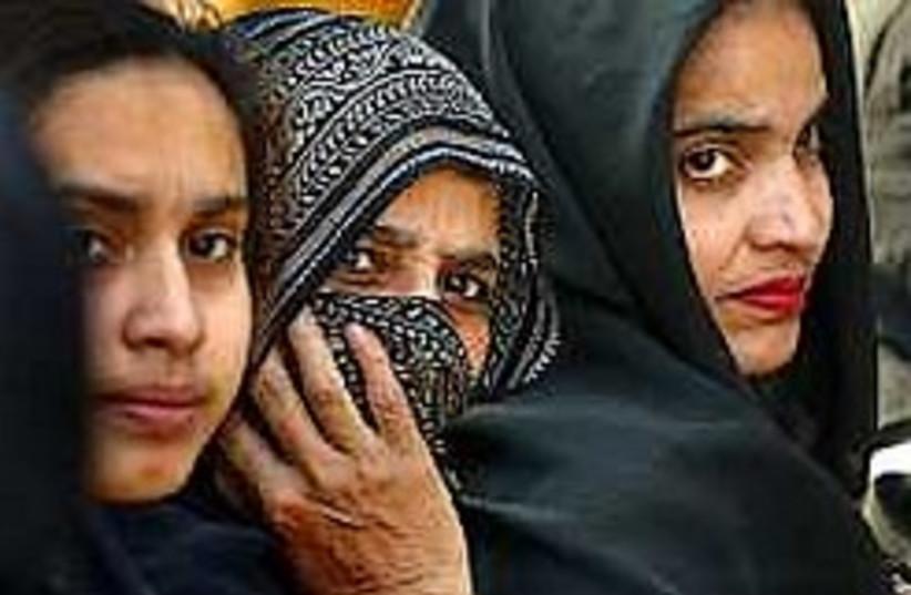 Muslim women 298.88 (photo credit: AP [file])