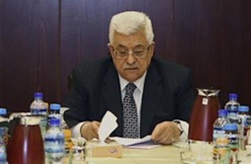Abbas fatah pensive 248 88 AP (photo credit: )