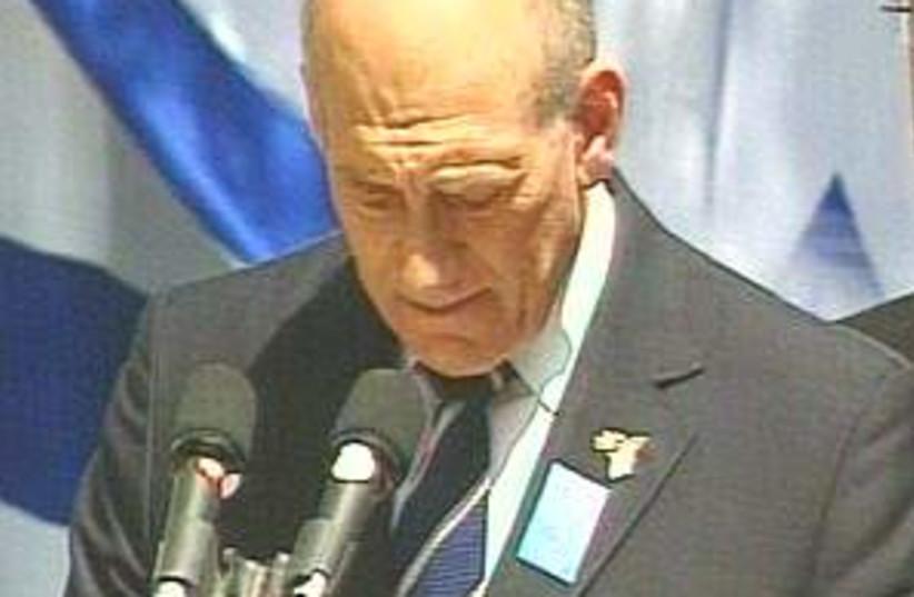 Olmert herzl 298.88 (photo credit: Channel 10 [file])