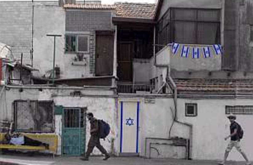israel flags 298.88 (photo credit: Jonathan Beck)