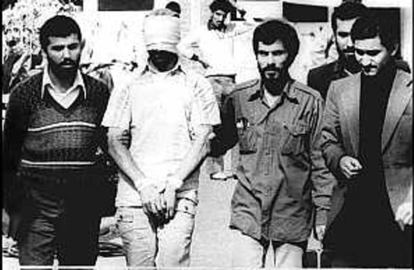 1979 US hostages  (photo credit: AP)