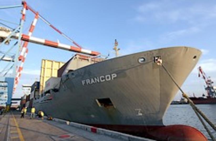 Francop ship weapons 248 88 (photo credit: Ariel Jerozolimksi )