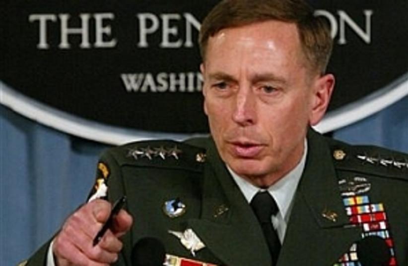 Gen. Petraeus 298.88 (photo credit: AP)