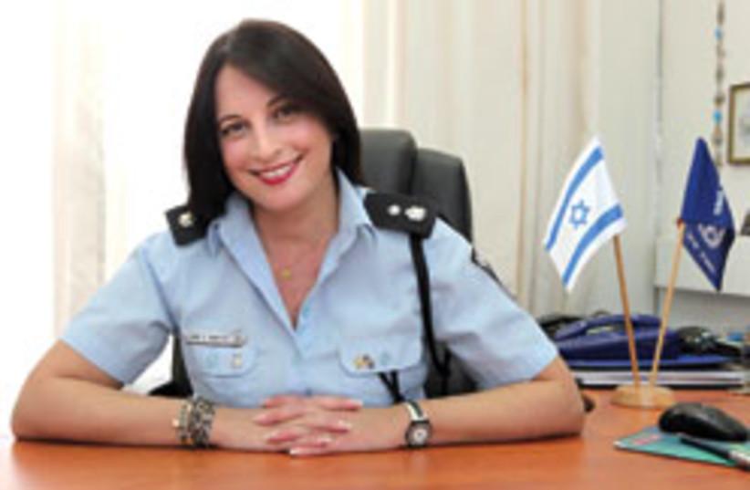 policewoman diane sheetrit 248 88 (photo credit: Ariel Jerozolimski)