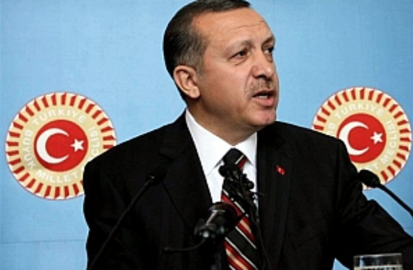 erdogan 298.88 (photo credit: AP)