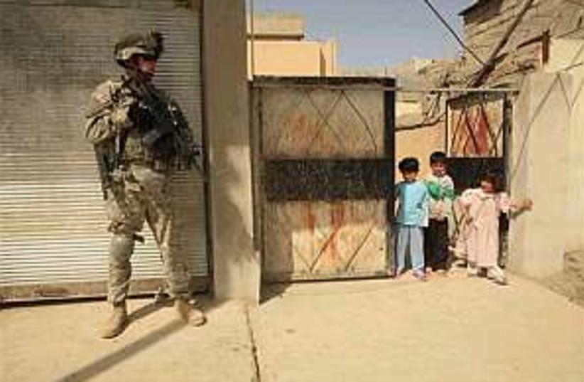 US Iraq army 298.88ap (photo credit: AP)