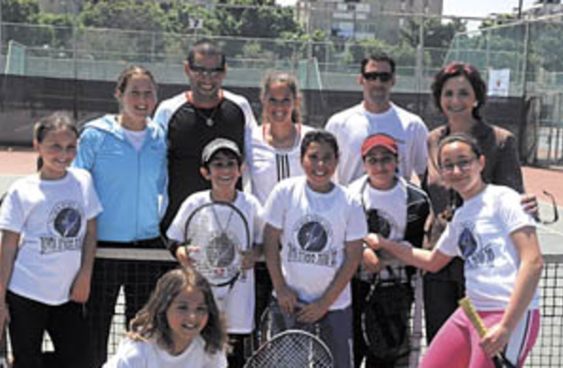 tennis (photo credit: Asaf Kliger)