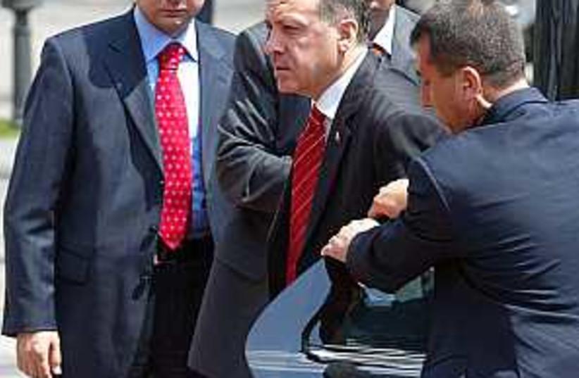Erdogan Turkey (photo credit: AP)
