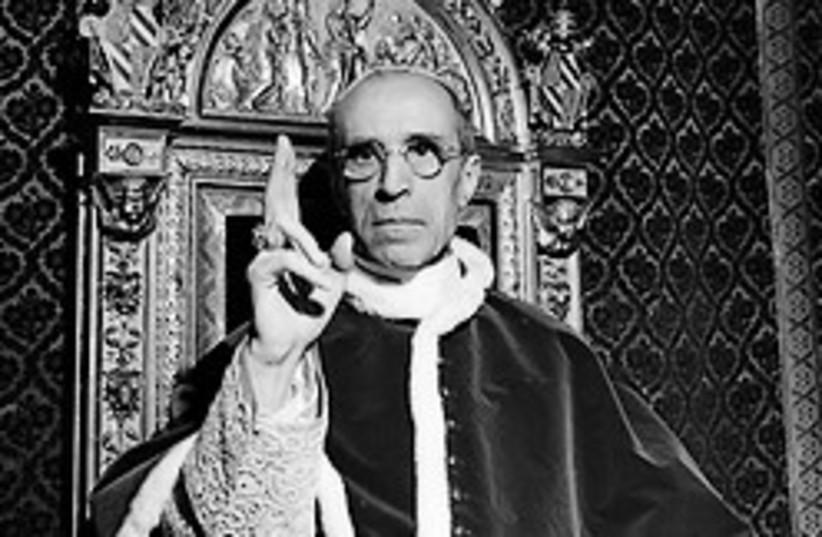 Pope Pius XII (photo credit: AP)