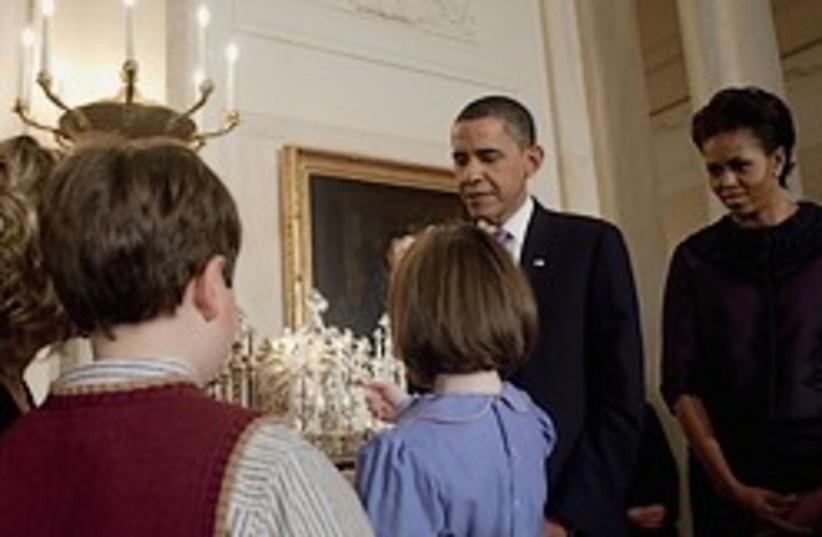 Obama Hanukkah 248.88 (photo credit: Curtousy White House)