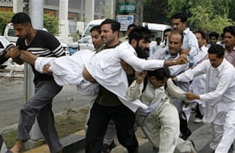 Pakistan violence (photo credit: AP)