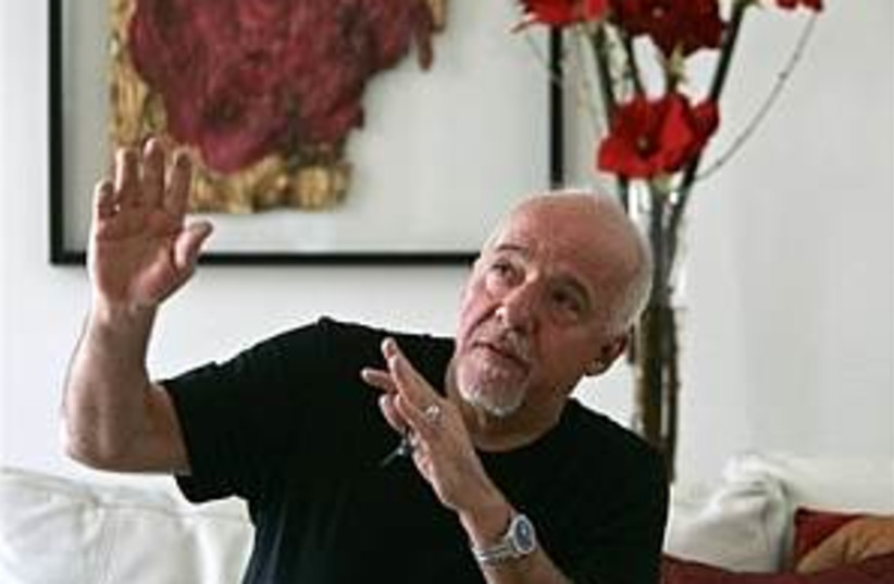 Paulo Coelho 298.88 ap (photo credit: AP)