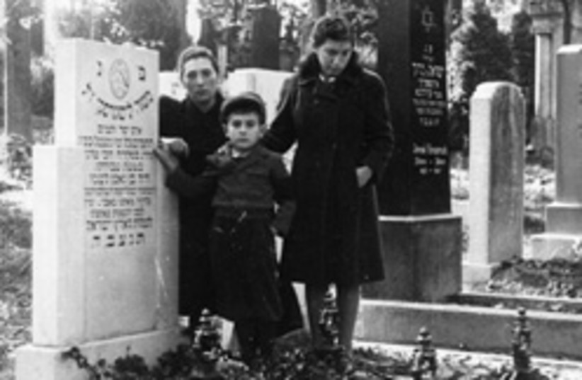 liskin gravestone 248.88 (photo credit: Courtesy of Saul Liskin)