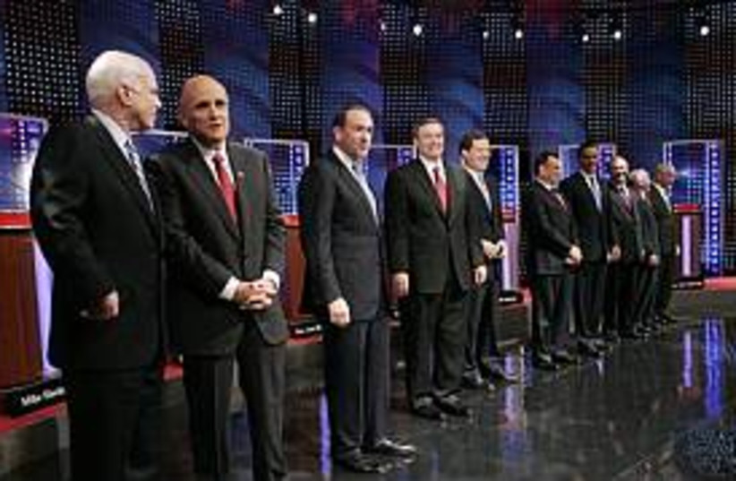 republican contenders298 (photo credit: AP)