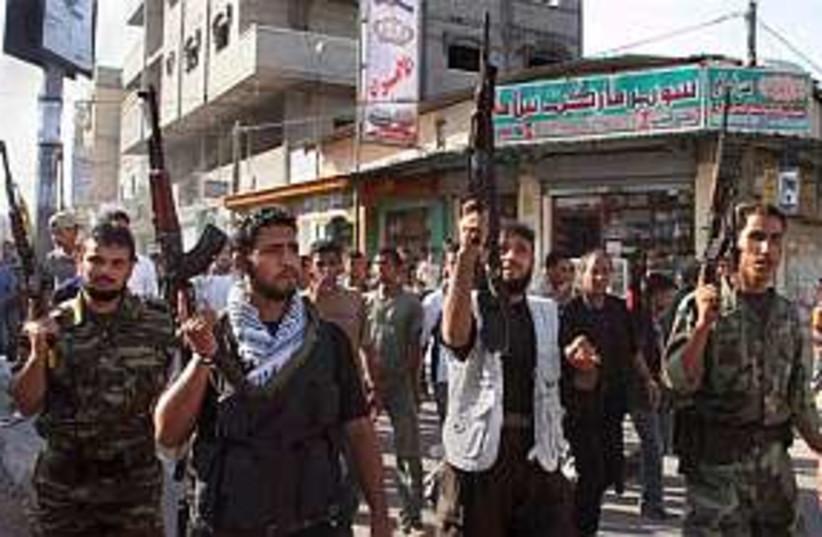 gaza fatah 298 ap (photo credit: AP)