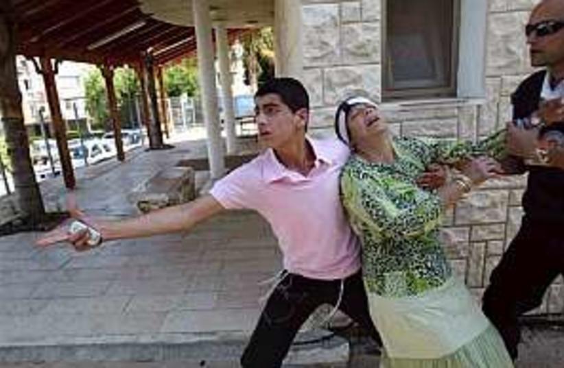 sderot kassams 298.88 (photo credit: AP [file])