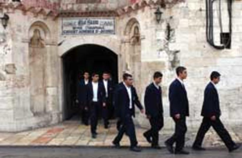 students armenians old city 248 no 88 (photo credit: Ariel Jerozolimksi)
